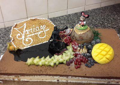 Un gâteau de mariage sur-mesure