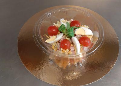 Une apétissante petite salade de pâtes